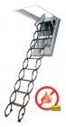 Protipožární kovové stahovací schody LSF 60min