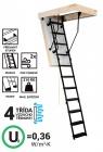 Skládací schody SOLID POLAR Kovové Termoizolační