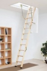 Dřevěné EXTRA zateplené schody CLICK-FIX 76