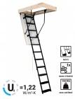 Skládací schody SOLID TERMO Kovové Zateplené