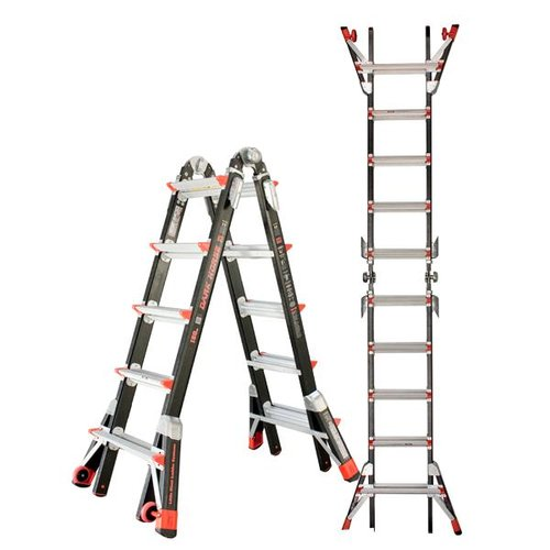 JUMBO Giant 5/9 Multi-Ladder žebřík Dark Horse