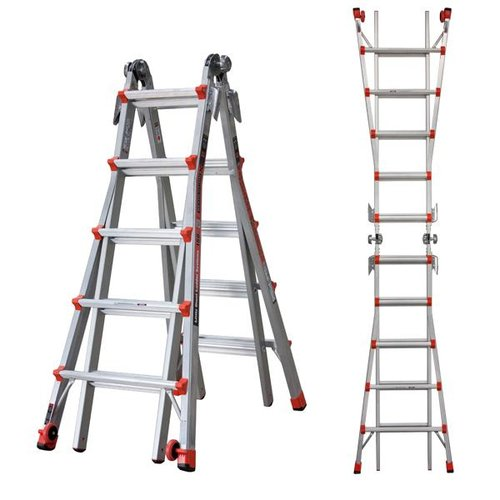 JUMBO Giant 5/9 Multi-Ladder žebřík Revolution - L